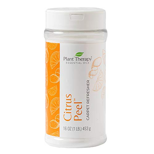 Plant Therapy Natural Citrus Peel Carpet Refresher 16 oz Refreshes Carpets and Neutralizes Odors, Aluminum-Free