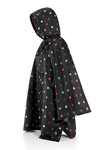 reisenthel Damen Zusammenklappbare - Up Regenmantel (Poncho) Einheitsgröße, Neu Mehrfarbig Punkte, Einheitsgröße, One Size