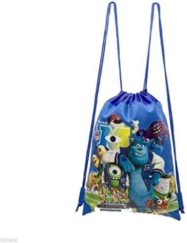 Disney Monsters University bleu Drawstbague sac sac à dos voyage Stbague Pouch Disneyland-brand nouveau with Tags  by Disney