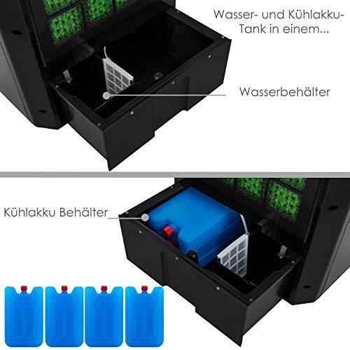 Mobile Klimaanlage 8 L Wasser/Eis Tank Ionisator Luftbefeuchter Bild 6*