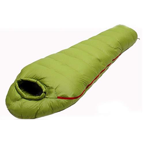 Winter Speciale Dikke -20 °C ~ -10 °C Slaapzak Mummies Zachte Gans Omlaag Warm Slaapzak Outdoor Camping Volwassen Borduurwerk Dubbele Outdoor Uitrusting Zwembed