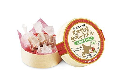 花畑牧場 生キャラメル 北海道産いちご 8粒タイプ