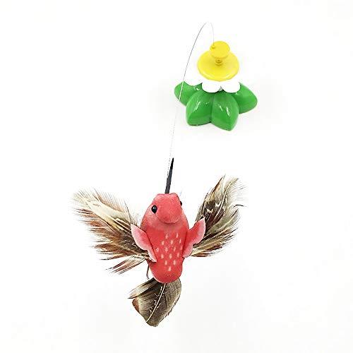 Juguete De Gato Eléctrico Automático Con Forma De Mariposa De Pájaro Juguete De Divertido Para Perro Juguete De Entrenamiento Interactivo