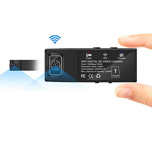 Cámara espía, AZX, Mini WiFi HD 1080P Cámaras espía para Mac/Android / Ventana de Vista remota con detección de Movimiento