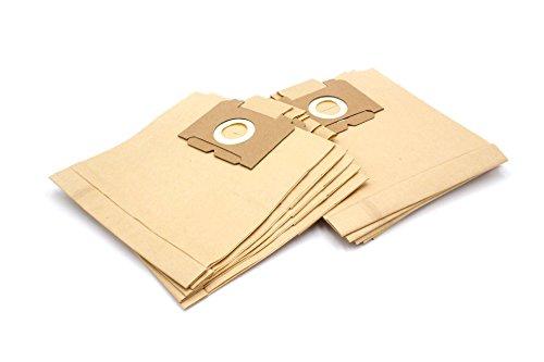 vhbw 10 Bolsas de papel aspiradoras, bolsas de filtro, tamaño 28 para AEG Electrolux Vampyr aspiradoras series E, H, HH, K, MM y 299(x) hasta 850(x)