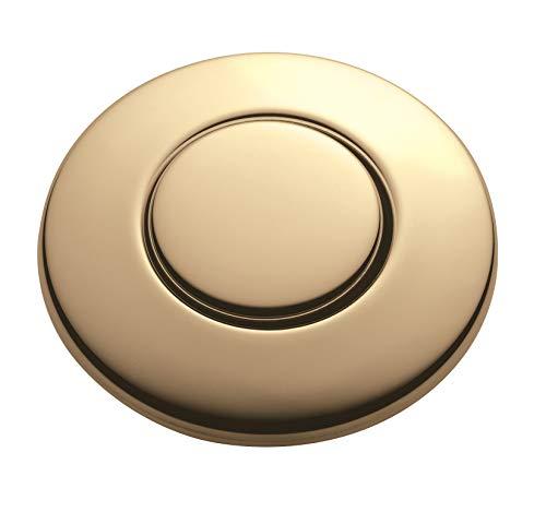 InSinkErator STCFG Push SinkTop Switch Button French Gold