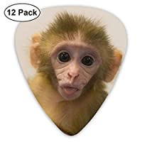 猿の赤ちゃんエレクトリックギターとエレクトリックギターとアコースティックギターに適した絶妙な12ピースピック