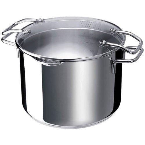 Beka 16303494 Cuiseur à pâtes Emporo en acier inoxydable tousfeux + induction