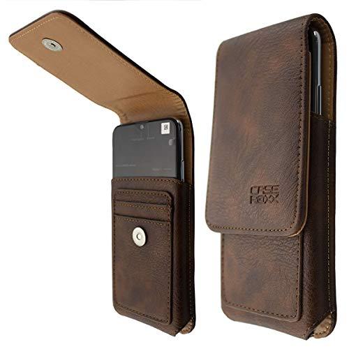 caseroxx Outdoor Tasche für Gigaset GS290, Tasche (Outdoor Tasche in braun)