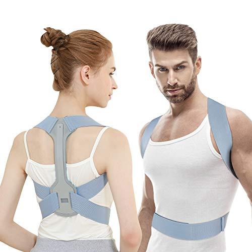 Zenoplige Haltungskorrektur, Geradehalter Rücken Rückenstütze Größenverstellbar Haltungstrainer, Haltungskorrektur für Damen und Herren Rückenbandage Schulterträger Rückenstabilisator (M)