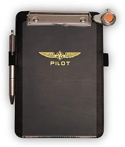 Design4Pilots - Planchette de vol 'Rookie' A5, noir