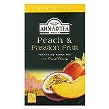 AHMAD TEA ( アーマッドティー ) ピーチ & パッションフルーツ ティーバッグ 20袋 ×3個 [ 英国ブランド 個包装 ]