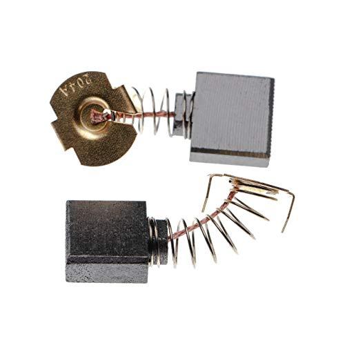 vhbw 2x Escobillas, escobillas de carbono 7 x 18 x 16mm compatible con Makita GA 9020 R, GA7010C, GA7020, GA7020S, GA7030, GA7030S herramientas