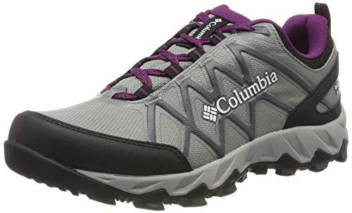 Columbia Peakfreak X2 Outdry, Zapatos de Senderismo, para Mujer, Monument, Wild Iris, 39 EU
