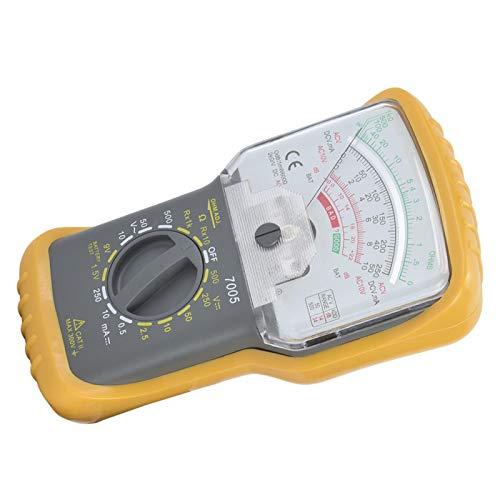 Multímetro analógico Amp Volt Ohm comprobador de capacidad Medidor de temperatura, rango manual, portátil para investigación científica para ingeniería económica