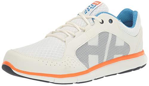 Helly Hansen Herren Ahiga V4 Hydropower Sneaker, Off White/Racer Blue/B, 44.5 EU