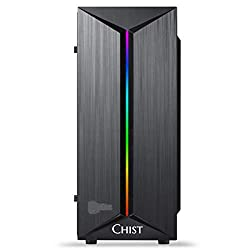 CHIST Budget Gaming PC (Intel Core i5-3475S 2.9GHz 8GB Ram NVIDIA 710 2GB Graphic 1TB HDD 120GB SSD WiFi & Gaming Cabinet,CHIST