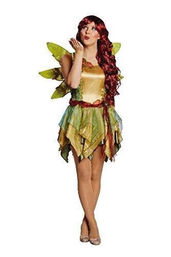 Disfraz de elfo de 2 piezas, alas (40)