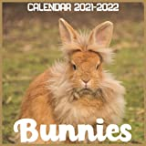 Bunnies Calendar 2021-2022: April 2021 Through December 2022 Square Photo Book Monthly Planner Bunnies, small calendar