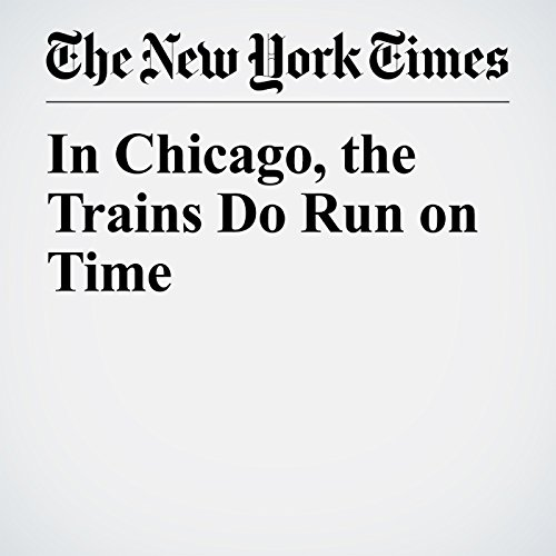 In Chicago, the Trains Do Run on Time copertina