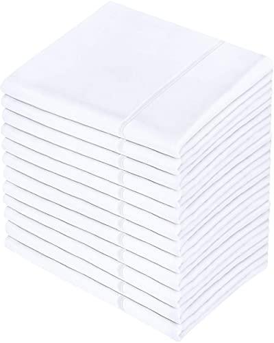 Utopia Bedding Queen Pillowcases - 12 Pack - Bulk Pillowcase Set -...