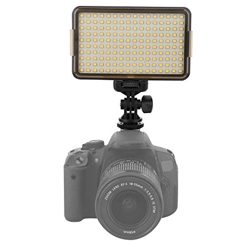 WYLZLIY-Home Luz de vídeo LED 3200-6000K Cámara Luz de relleno de fotografía Luz de relleno regulable Luces de fotografía Set de lámpara