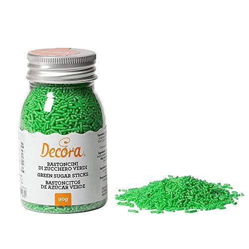 Decora Bastoncitos De Azucar Verde 90 g