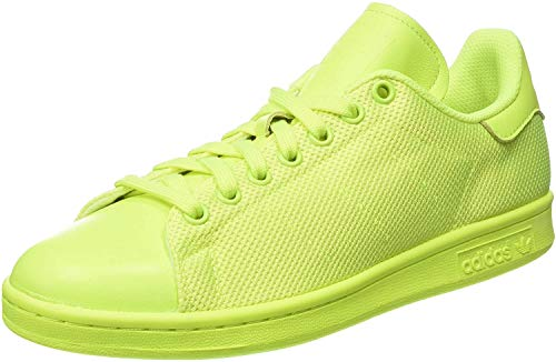 adidas Unisex-Erwachsene Stan Smith Low-Top, Gelb (solar Yellow/solar Yellow/solar), 45 1/3 EU