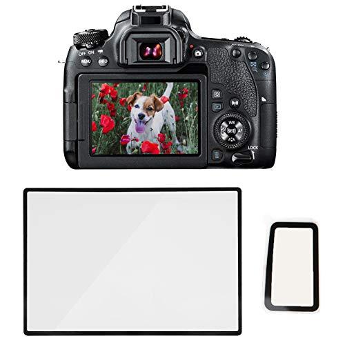 Bindpo Protector de Pantalla Templado para Canon EOS 77D, película de protección de Vidrio óptico de 0,3 mm, Resistente al Polvo y al Sudor