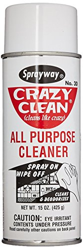 Sprayway SW030 Crazy Clean All Purpose Cleaner, 15 oz, 20. Fluid_Ounces