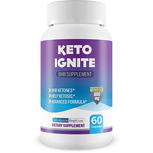 Keto Ignite Bhb Supplement - Help Burn More Fat & Burn Fat Faster with...