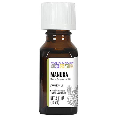 Aura Cacia Manuka Essential Oil | GC/MS Tested for Purity | 15ml