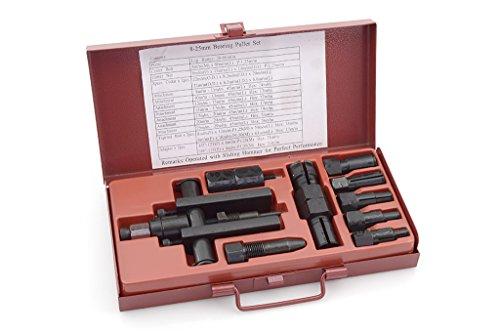BUZZETTI - 19411 : Kit Extractor Cojinetes Agujero Ciego. Incluye 7 Pcs. Útil 26-66Mm