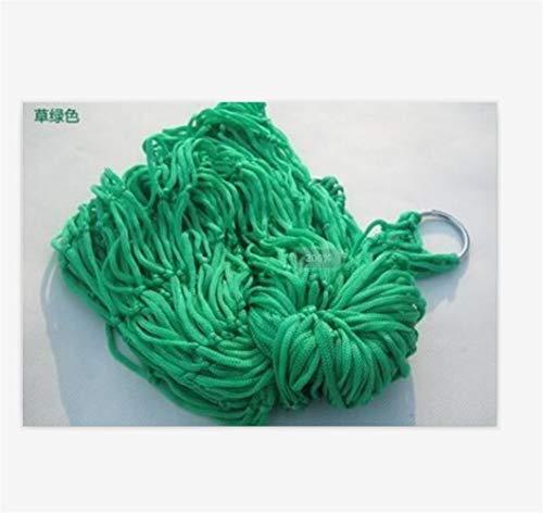GZSC Lit de Couchage Net de Maille d'hamac en Nylon de Jardin portatif for Le Voyage extérieur campant Le Bleu Vert Rouge (Color : Army Green)