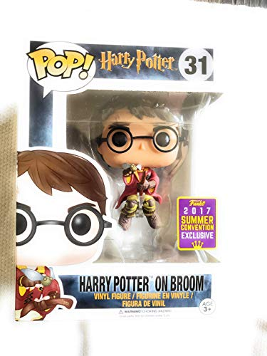 Funko POP! Harry Potter: Harry Potter montado en escoba Exclusivo
