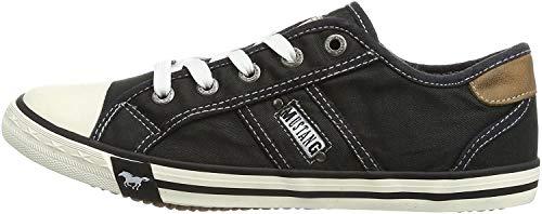 Mustang Damen 1099-302-9 Sneakers, Schwarz (schwarz 9), 38 EU