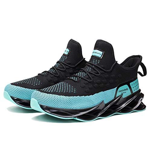ADFD Zapatillas de Running Blade Series para Hombre Calzado Deportivo Transpirable de Moda Diseño de Amortiguación de Suela Hueca Adecuado para Todo Tipo de Deportes y Uso Diario,