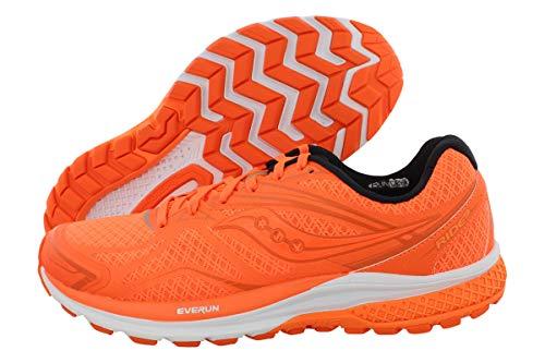 Saucony Men's Ride 9 Running Shoe, Orange, 10 M US