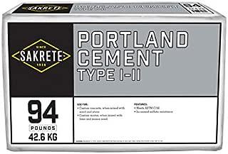 SAKRETE of North America 112494 Quikrete, 94 LB Portland Cement, Type 1-11.