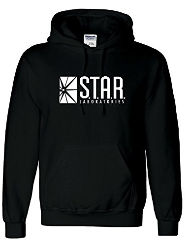 Sudadera con capucha inspirada en STAR Laboratories - Sudadera con capucha de S.T.A.R. Labs de la serie de TV The Flash