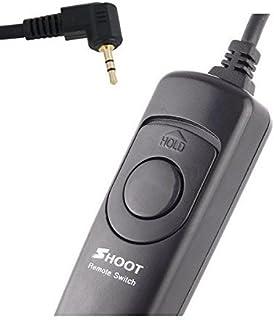 Shoot cable disparador remoto para Canon EOS/700d/600d/550d/500d/1000d/1100d/1200d/450d/400d/350d/300d/100d/70d (Rebel Rebel XT Rebel XTi Rebel XTi Rebel XS Rebel T1i Rebel T2i Rebel T3i Rebel T4i EOS 60d)–y GX-20/gx-10/GX-1L Samsung GX-1S y Pentax K20D/k200d/K10D/k100d Super/K100D/K110D