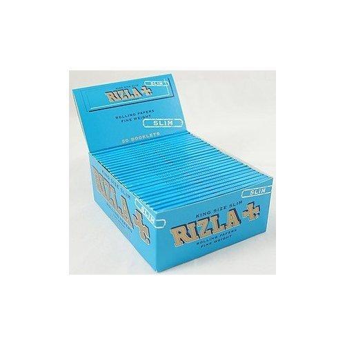 RIZLA Papers Zigarettenpapier Blau King Size Slim