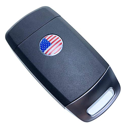 Uniqkey I-KEY Style All in One Flip key remote Replacement for RX300 Keyless Entry Control Fob Clicker switchblade Transmitter folding transponder chip Alarm beeper