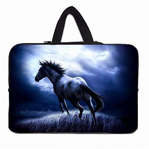 YNLRY Elegante bolsa con asa para portátil de 10 12 13 pulgadas 11.6 14 15 15.4 15.6 17 Funda Portatil Bolsas Neopreno Chromebook Funda (Color: H017, Tamaño: 15 pulgadas)
