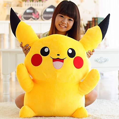 PANGDUDU Cartoon Anime Pokémon Pikachu Puppe Nette Große Plüschtier Puppe Kissen Kinder Spielzeug, 80 cm