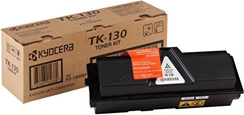 Kyocera TK-130 Original Toner-Kartusche Schwarz 1T02HS0EU0. Kompatibel für FS-1028MFP, FS-1128MFP, FS-1300D, FS-1350DN. 7.200 Seiten