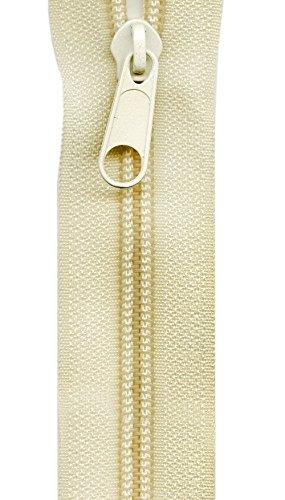 Sullivans Heavy Duty Make-A-Zipper Kit, 3-Yard, Cream