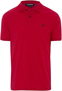 Connor Men's Portland Polo Cotton Polyester Blend Regular Collared Casual Tops Sizes XS-3XL Affordable Quality with Great Value