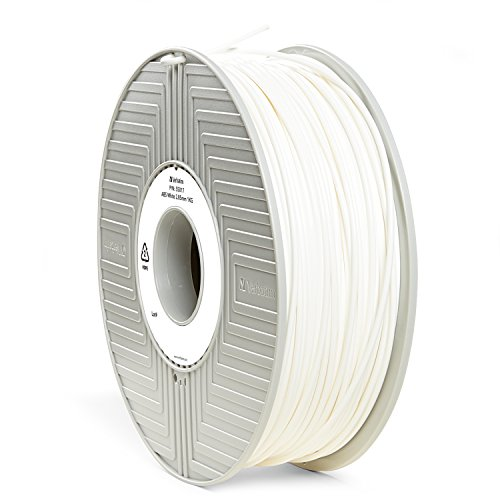Verbatim ABS Filament - 3D Printing Material, 2.85mm, 1kg, white, 55017