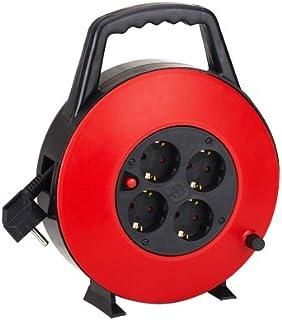 comprar comparacion Aigostar 177430 - Cable de alimentación de bobina enrollable de 10 metros y 4 enchufes